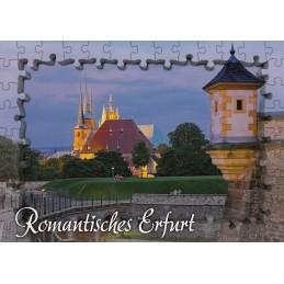 Erfurt - Puzzleborder - Viewcard