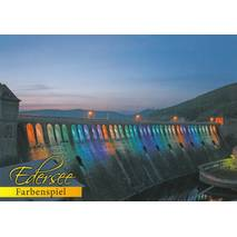 Edersee - Play of Colours - Postcard