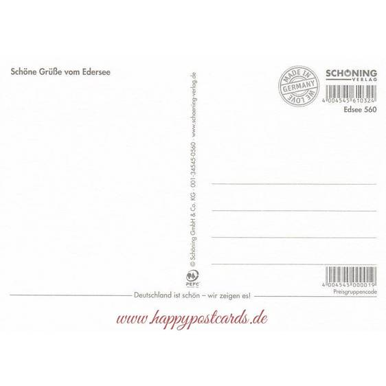 Mail from Edersee - Postcard