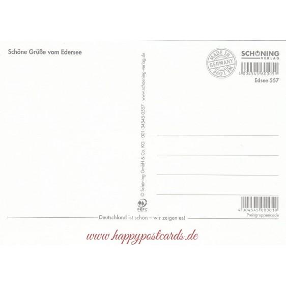 Erlebnisregion Edersee - Postkarte
