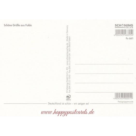 Baroque town Fulda - Postcard