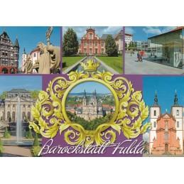 Barockstadt Fulda 2 - Postkarte