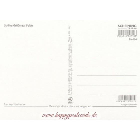 Fulda - Castle - Postcard
