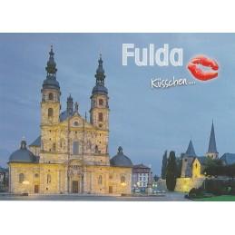 Küsschen Fulda - Postkarte