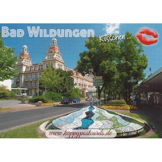 Kiss Bad Wildungen - Postcard