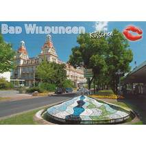 Kiss Bad Wildungen - Postcard