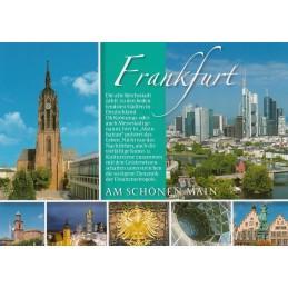 Frankfurt - Chronikkarte