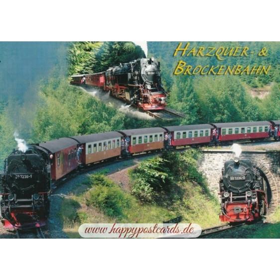 Harzquer-& Brockenbahn