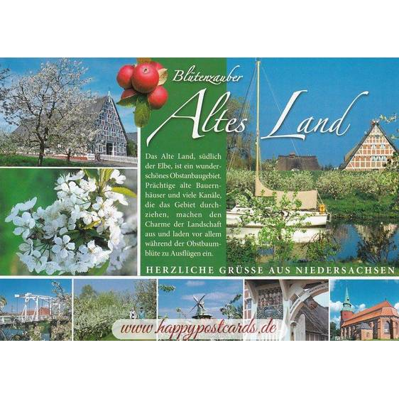 Altes Land - Chronicle - Viewcard