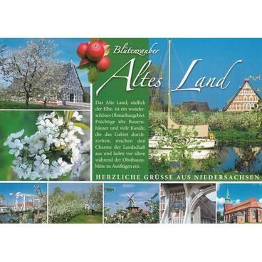 Altes Land - Chronikkarte