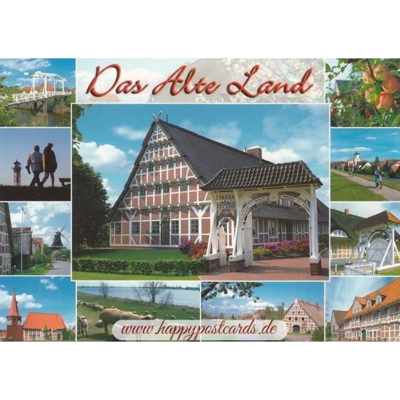 Das Alte Land 3 - Postcard