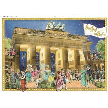 Berlin - Brandenburger Tor - Tausendschön - Postkarte