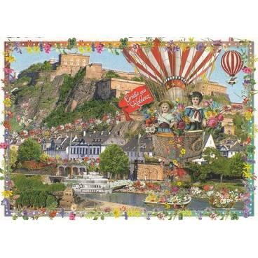 Koblenz - Tausendschön - Postkarte