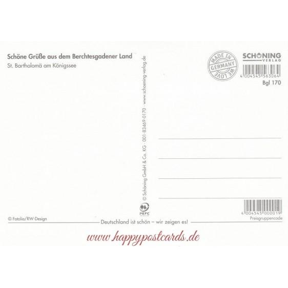 Königssee - Ansichtskarte