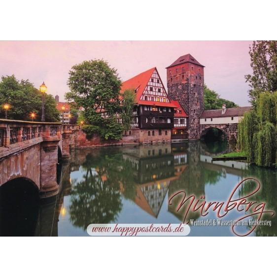 Nürnberg - Weinstadel - Viewcard