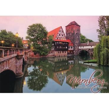 Nürnberg - Weinstadel - Ansichtskarte