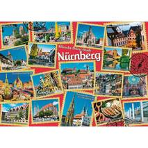 Nürnberg - Stamps - Viewcard