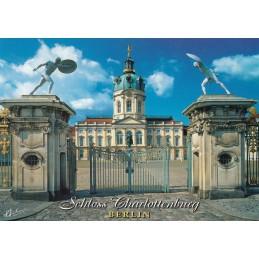 Berlin - Charlottenburg Castle - Viewcard