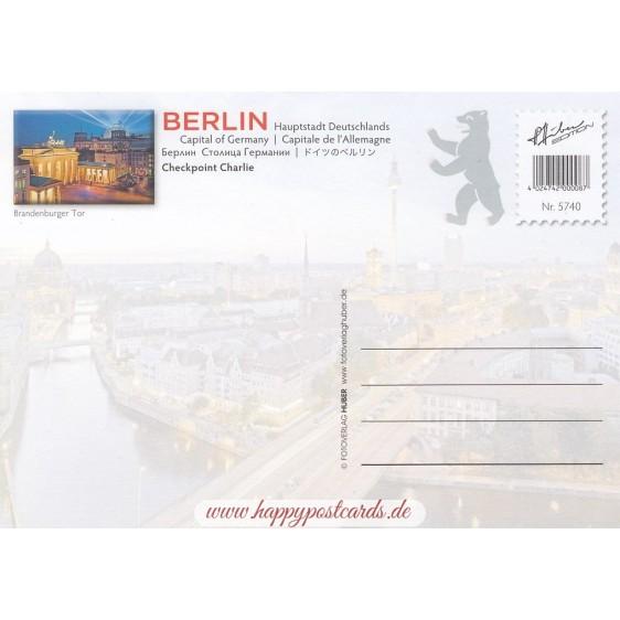 Berlin - Checkpoint Charlie - Ansichtskarte