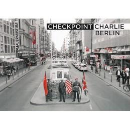 Berlin - Checkpoint Charlie - Viewcard