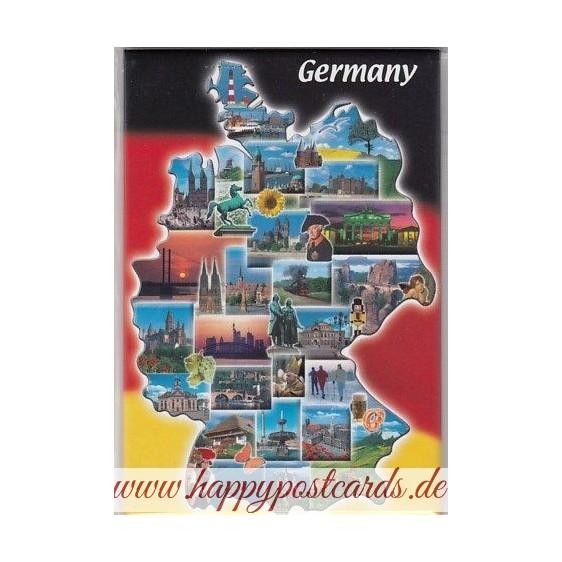 Deutschland Kühlschrankmagnet