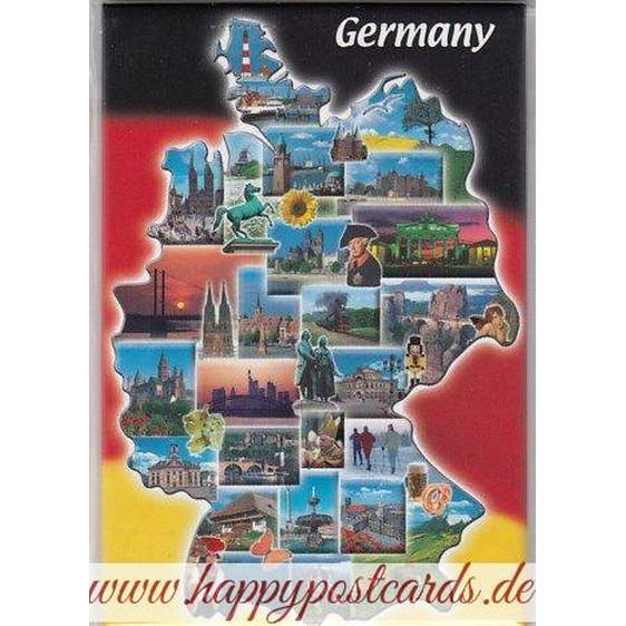 Germany fridge magnet