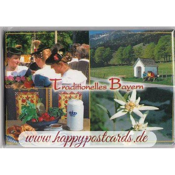 Traditional Bavaria - Fridge magnet
