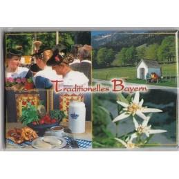 Traditionelles Bayern - Kühlschrankmagnet