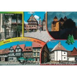 Quedlinburg - Altstadt - Ansichtskarte