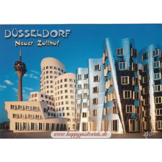 Düsseldorf - Neuer Zollhof - Viewcard
