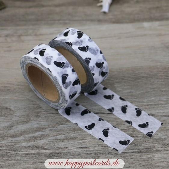 Feet - Washi Tape - Masking Tape