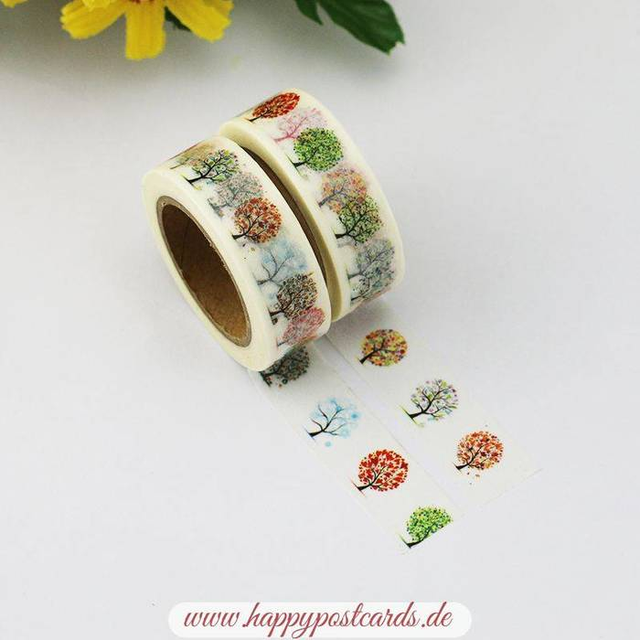 washi tape b ume washi tape masking tape happy postcards. Black Bedroom Furniture Sets. Home Design Ideas