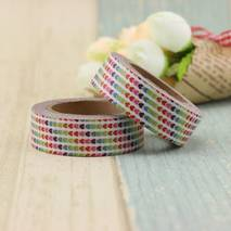 Colourful Hearts - Washi Tape - Masking Tape