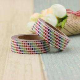 Colourful Hearts - Washi Tape - Masking Tape