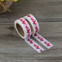Rote Schmetterlinge - Washi Tape - Masking Tape