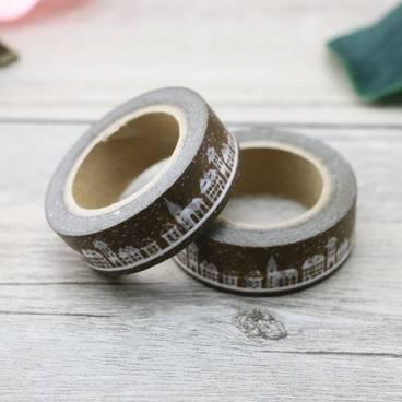 Skyline - Washi Tape - Masking Tape