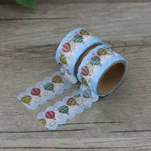 Hotair ballons - Die Cut - Washi Tape - Masking Tape