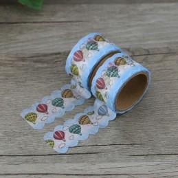 Hotair ballons - Die Cut - Washi Tape - Masking Tape