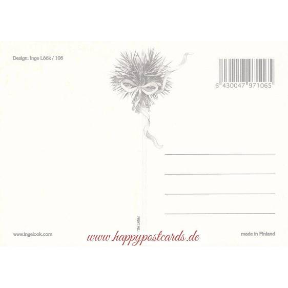 106 - Gartentor - Löök Postkarte