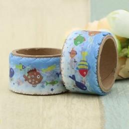 Fische Gestanzt - Washi Tape - Masking Tape