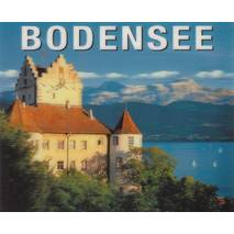 3D Bodensee - Burg Meersburg - 3D Postkarte