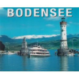 3D Bodensee - Lindau - 3D Postkarte