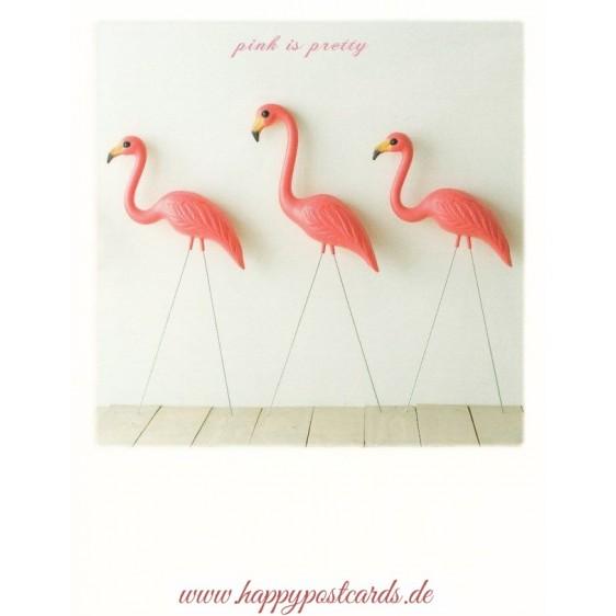 Flamingos - PolaCard