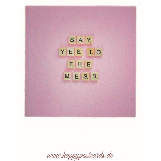 Say yes to the mess - PolaCard