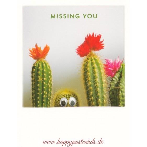 Cactus - Missing you - PolaCard