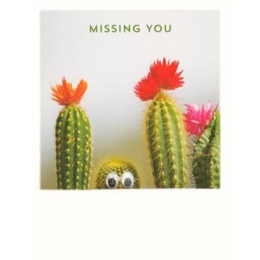 Kakteen - Missing you - PolaCard