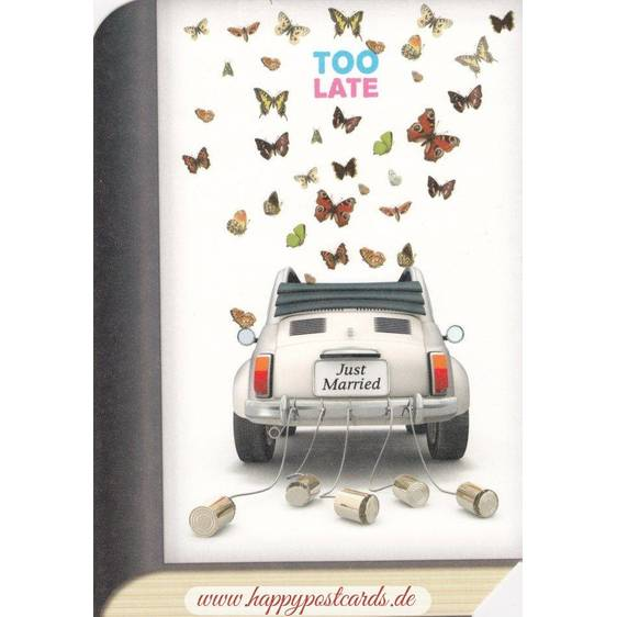 Just Married - BookCARD
