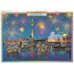 Düsseldorf - Japan Tag - Tausendschön - Postkarte