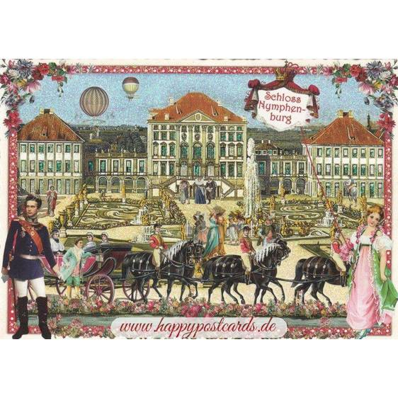 Munich - Castle Nymphenburg - Tausendschön - Postcard
