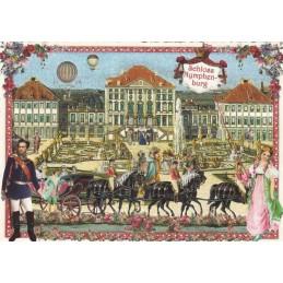 München - Schloss Nymphenburg - Tausendschön - Postkarte